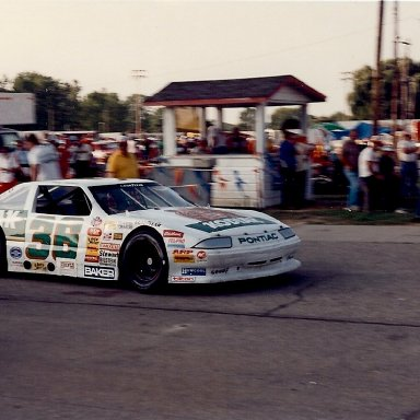 Kenny Wallace's ASA Pontiac at Berlin Raceway
