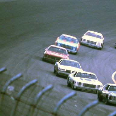 #17 Roger Hamby 1979 Gabriel 400 @ Michigan (1)  (last car in line)