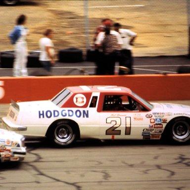 #21 Neil Bonnett 1982 Champion Spark Plug 400 @ Michigan