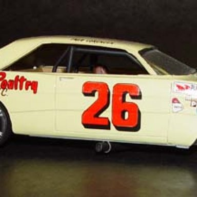 1966 Ford yellow banana Jr Johnson for Lorenzen