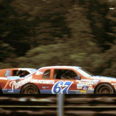 #67 Buddy Arrington 1986 The Budweiser at the Glen