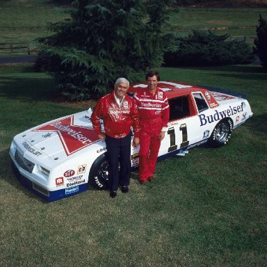 Junior Johnson & DarrellWaltrip 1984 promo