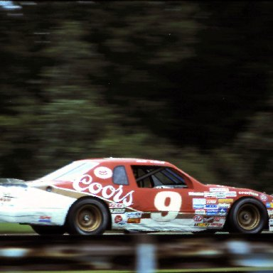 #9 Bill Elliott 1986 The Budweiser at the Glen