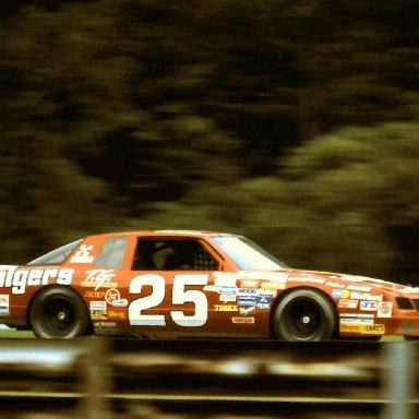 #25 Tim Richmond  1986 The Budweiser at the Glen