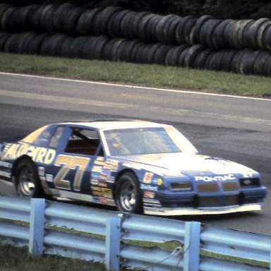 #27 Rusty Wallace     1986 The Budweiser at the Glen