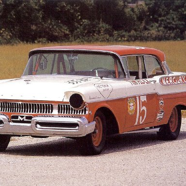 Tim Flock's 1957 Mercury