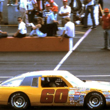#60 Cliff Hucul 1986 Champion Spark Plug 400