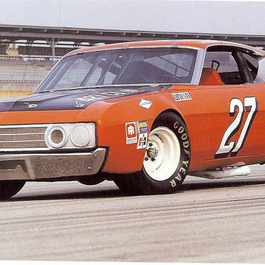 Donnie Allison's 1969 Torino Talladega