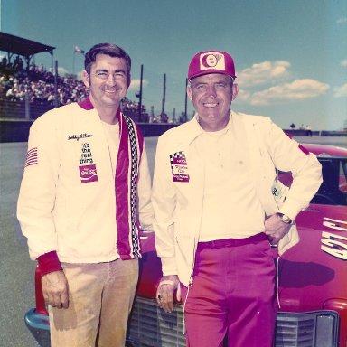 Bobby Allison & Dad 1972