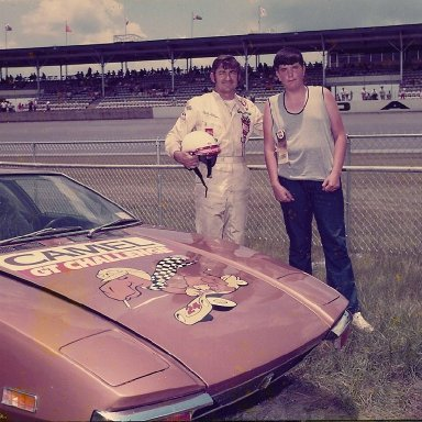 Bobby Allison & Me 1972 Daytona