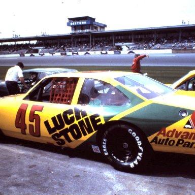CHARLIE LUCK..BUSCH CAR .DAYTONA 86