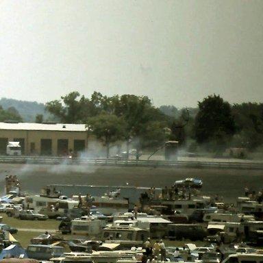 #42 Kyle Petty  1981 Gabriel 400 @ Michigan