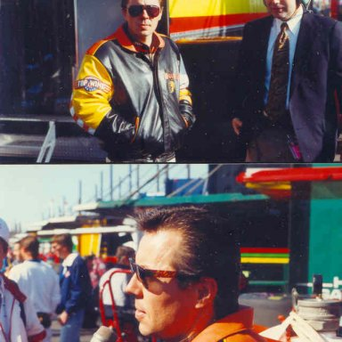 ALAN AT ATLANTA IN 92 WHERE HE WON THE CHAMPIONSHIP