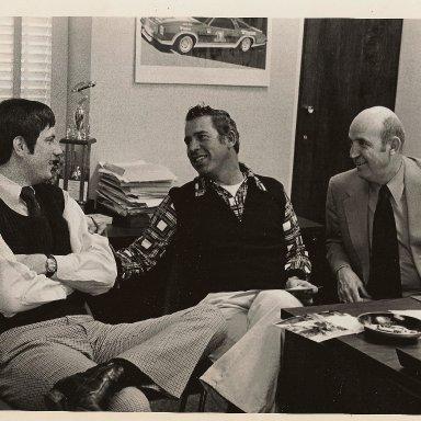 Jeff Byrd, David Pearson, & my Dad (Ralph Seagraves)