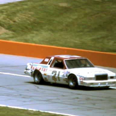 #21 Neil Bonnett   1981 Gabriel 400 @ Michigan