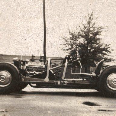 Charles Tidwell's car