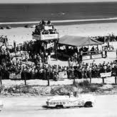 1956 Convertible Beach Race