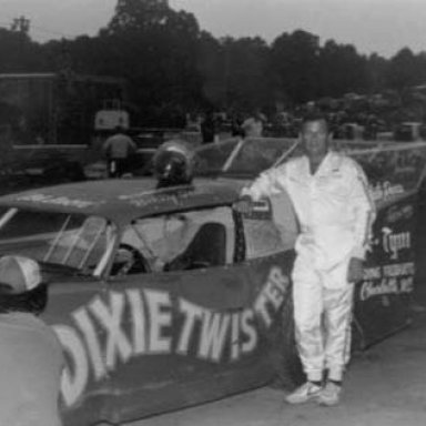 Billy with the Dixietwister owned by Bobby Burnett 1980S'
