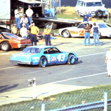 THE KING,S LATE MODEL AT CARAWAY 19 80