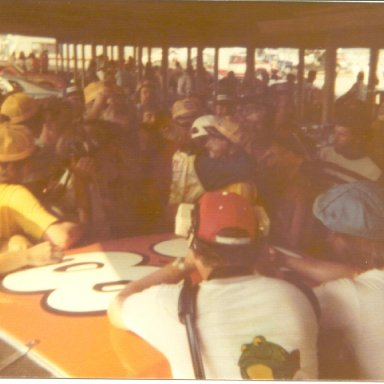 Janet Guthrie 1st Winston Cup race
