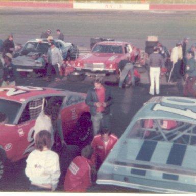 1975 - 1 Ray Hendrick, 01 Sonny Hutchins, 26 Randy Bethea