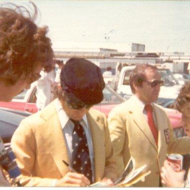 Jackie Stewart, Jim McKay