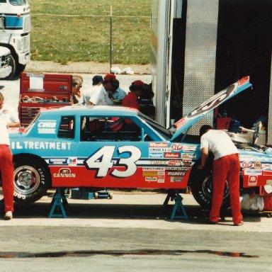Richard Petty - N. Wilksboro 1985
