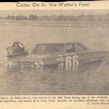 BAY DARNELL  DAYTONA 1964