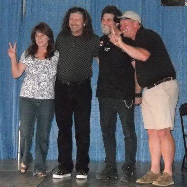 Rebecca Turner, Bill, Ron, and John Banks