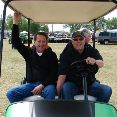 Cayce S.C.  Harry Gant With the AIRPS Guys Jeff & Harry