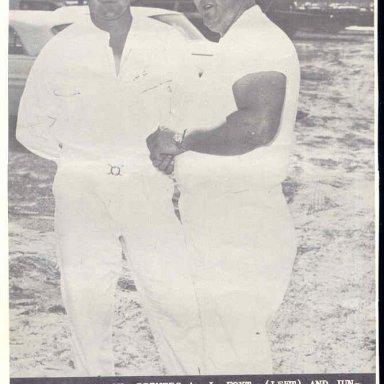 AJ FOYT AND JUNIOR..1963..DAYTONA