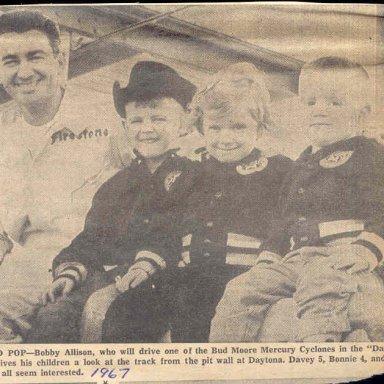 BOBBY,S PRIDE AND JOY 1967