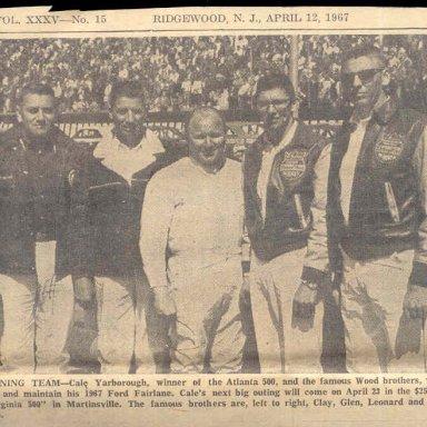 WOOD BROS. ..1967