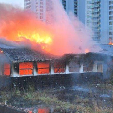 Emailing: Smokey Shop burn down
