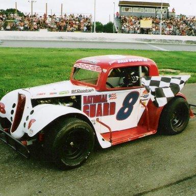 2008 heat race Lorain