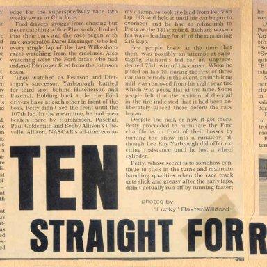 Ten in a row..amazing....1967