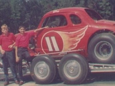 Ray Hendricks Car And Thats Roy Hendrick on left