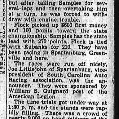 Opening race 4 26 1948 p6B