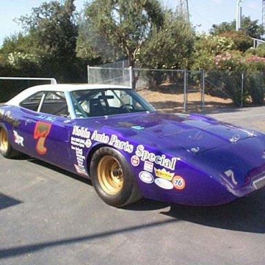 The restored Jack McCoy Daytona
