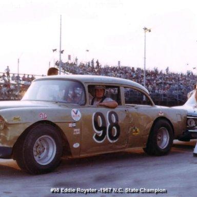 Eddie Royster 1967 NC State Champion