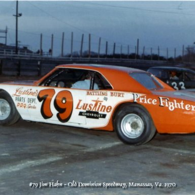 Jim Hahn, Old Dominion Speedway, Manassass