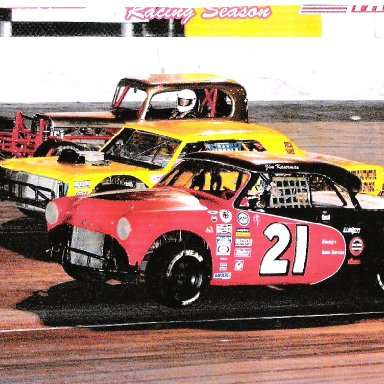 Three Wide Racing At Orlando Speedworld