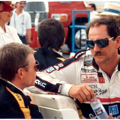 dale sr and mark martin