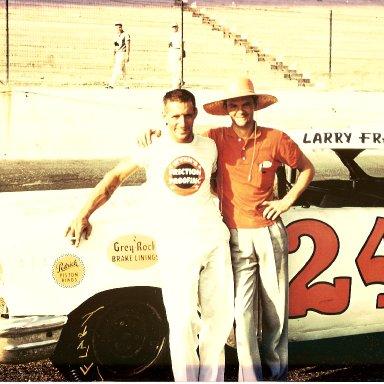 Larry Frank & Car Owner Paul McDuffie