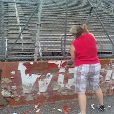 Cris at North Wilkesboro Speedway