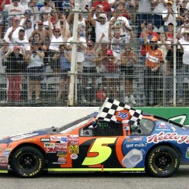 Terry Labonte Wins Southern 500