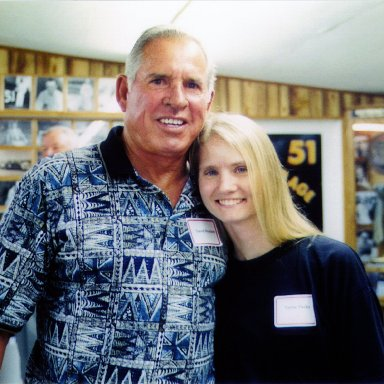 David Pearson and Terrie parks
