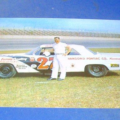 Jr Johnson 1962 Pontiac