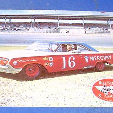Darel Dierenger 1964 Mercury