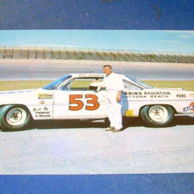 Bob Burdick, Daytona 1962